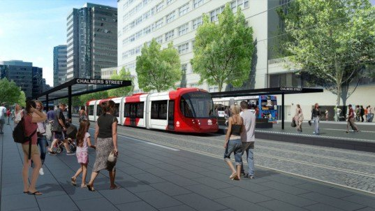 Hassell, Sydney, Australia, Light Rail, Public Transportation, NSW Government, New South Wales, Pedestrian, Sustainable, Green