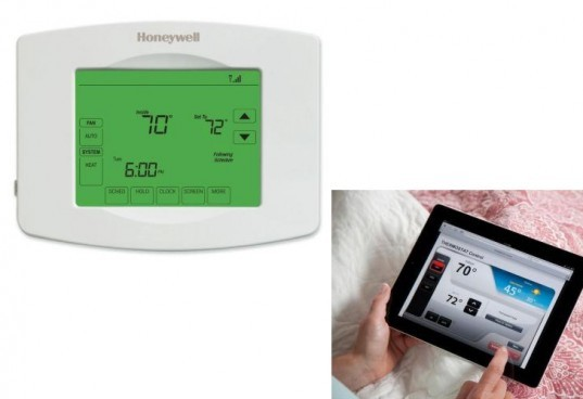 Honeywell Wi-Fi Thermostat, wifi thermostat, programmable thermostat, energy saving thermostat