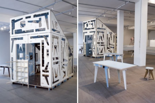 House of Furniture Parts, Studio Makkink and Bey, multi-functional furniture, green furniture, droog, green architecture, green design