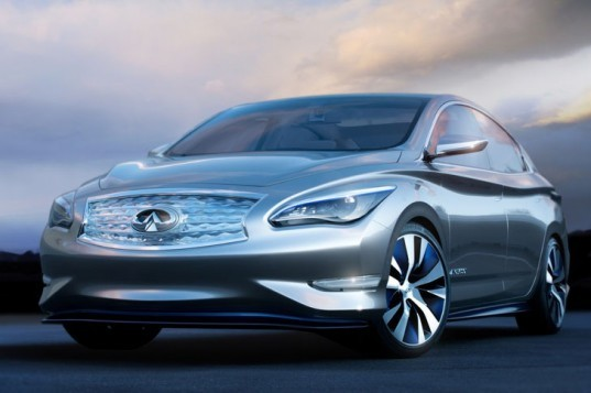 Nissan, Nissan Leaf, Nissan electric car, Infiniti, Infiniti LE Concept, Nissan hybrid, Infiniti hybrid, green car, green transportation, lithium-ion battery