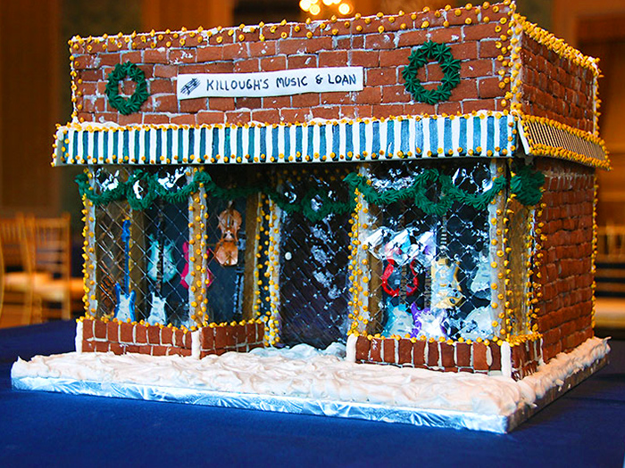 10 Architectural Gingerbread Creations from 2012 To Make You ... on german nativity, german cookie house, german christmas houses, german cooking, german incense smoker houses, german desserts, german chocolate, german peach tart, german cakes, german christkind, german heart, german holidays, german lebkuchen, old-fashioned german house, german bread,