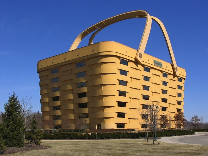 Longabergeru0027s Giant Basket Building Is Made Of Locally Sourced Ohio Wood |  Inhabitat   Green Design, Innovation, Architecture, Green Building Amazing Design
