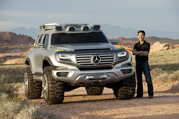 Mercedes Benz Unveils Fuel Cell Powered Ener G Force Suv At The Los