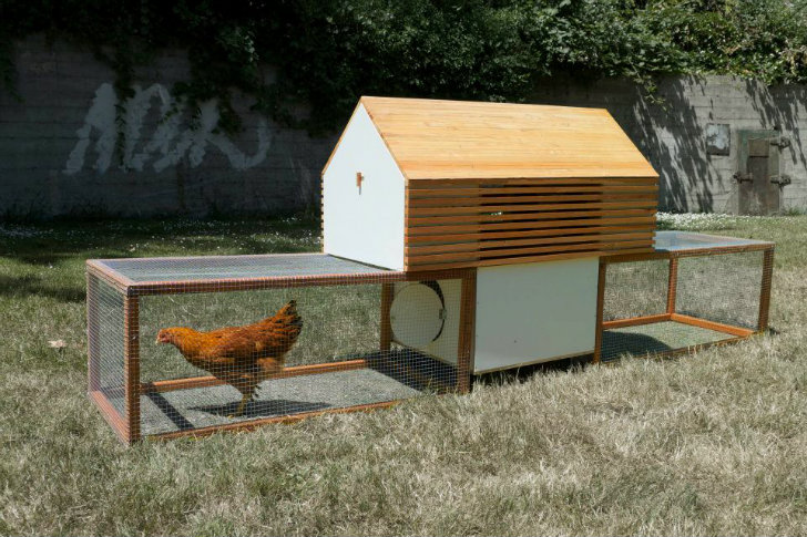 Exceptional The Moop: A Modern Modular Prefab Coop For Design Savvy Chickens |  Inhabitat   Green Design, Innovation, Architecture, Green Building Amazing Ideas