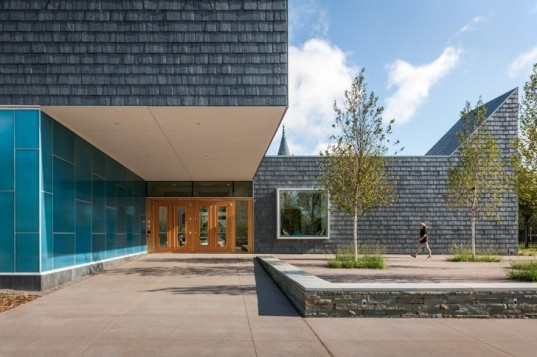 Nelson Cultural Center, HGA, American Swedish Institute, leed gold, eco museum, green roof, swedish design, sustainable museum