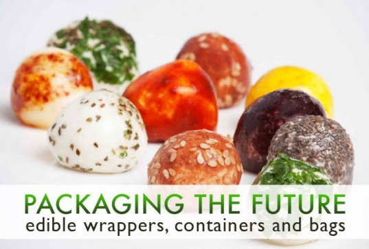 edible wrappers, sustainable packaging, biodegradable packaging, packaging the future, sustainable design, green design, sustainable food, green food packaging, sustainable food packaging, healthy food, sustainable produce, eco design, edible packaging, edible container, molecular gastronomy, wikicell