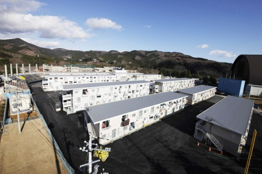 Shigeru Ban, Onagawa, Japan, container housing, disaster relief, shipping containers