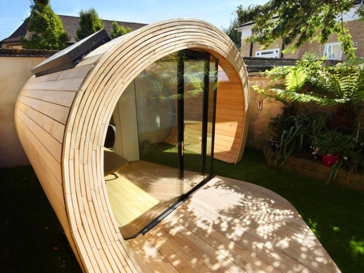 5 Architects Magnificent Timber Shoffice Is A Naturally Daylit Garden Shed  Office Combo 2017
