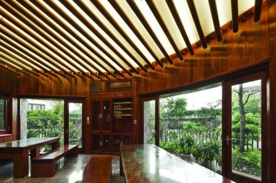 Viet Nam, Vo Trong Nghia, natural materials, bamboo, stone, green roof, natural circulation, daylighting, sustainable materials, thermal massing, Hanoi, Ha Long Bay, Asia, green design, sustainable design, eco design