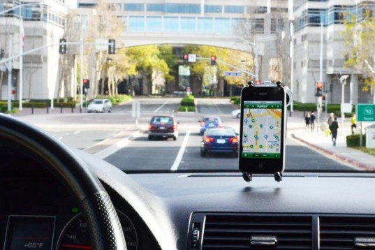 Streetline, Cisco Systems, San Mateo, smart parking, parker app,