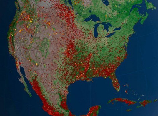 nasa, national interagnecy fire center, 2012, wildfires, fire