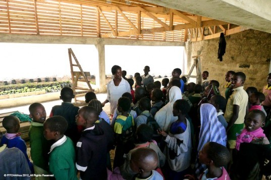Atopia Research, Jane Harrison, David Turnbull, Kenya, WATERBANK Schools, PITCHAfrica, rainwater harvesting schools, water catchment, green design, locally sourced materials, sustainable design, eco-design, Africa, education,