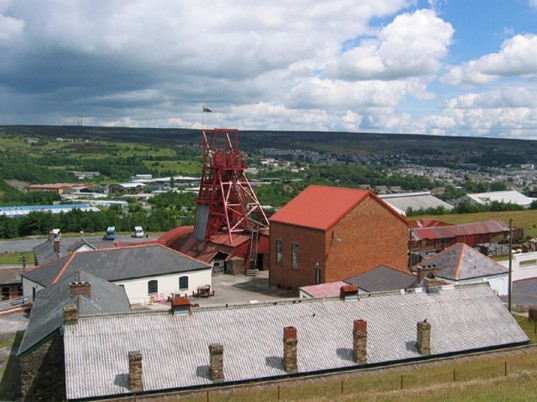 big pit, mining museum, wales, uk, solar panels, coal, fossif fuels, green technology