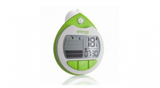efergy, efergy shower timer, water monitor, shower water monitor