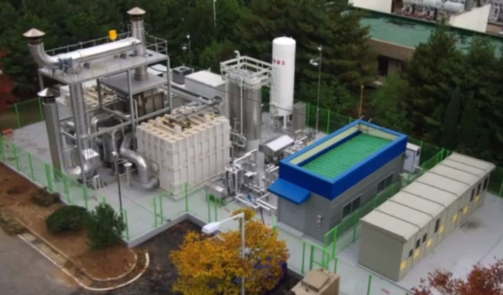 fuel cell power plant fuelcell energy electrical generation clean
