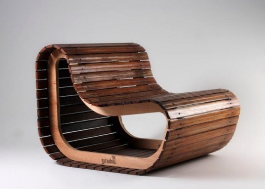 sustainable furniture, recycled furniture, gruba, argentine design, green design, sustainable design, corrugated cardboard