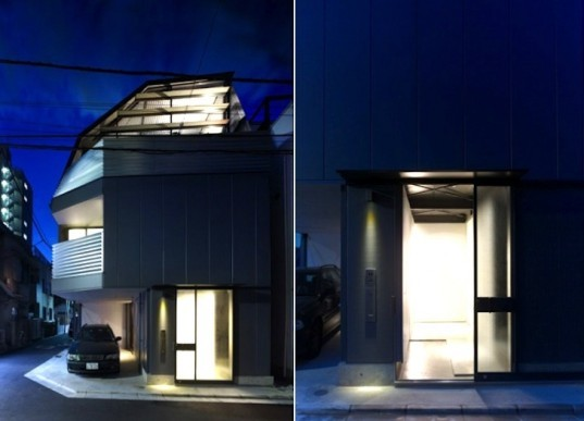 daylighting, solar orientation, Keiji Ashizawa, Japanese design, urban housing, urban design, sustainable design, Mishima House, Keiji Ashizawa, Japan, steel-framed home,