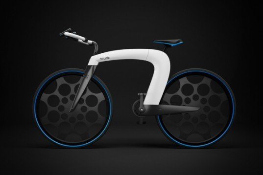 nCycle, skyrill, futuristic bicycle, e-bike, innovative electric bike, sustainable bicycles, green design, sustainable design