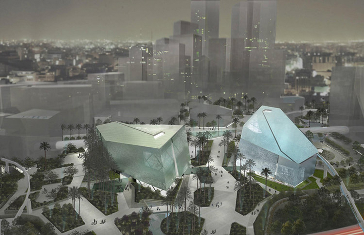 Chuck hoberman designs kinetic building canopy to filter Cloud 9 architecture