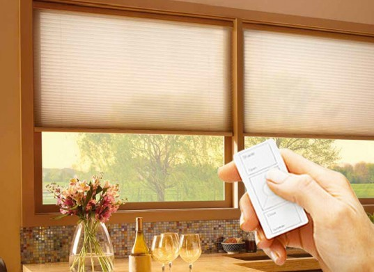 Serena Shades, automatic shades, electronic shades, insulating shades, insulating blinds, quality shades, quality blinds