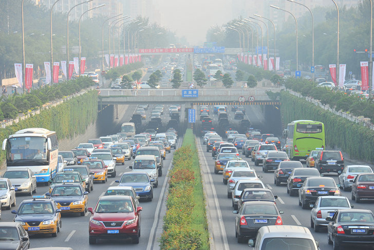 Study Finds Emissions From Fossil Fuel Burning Vehicles