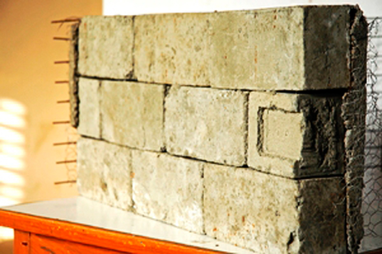 Indian researchers create low cost bricks from recycled for Brick house cost to build