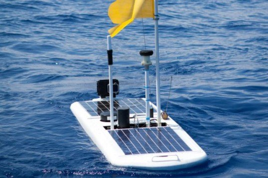 Liquid Robotics, wave glider, wave-powered robot, Papa Mau