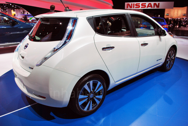 2013 Nissan Leaf Is Now More Efficient And Charges In Half The Time