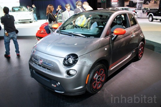 Fiat, Fiat 500, Fiat 500e, electric vehicle, Fiat electric vehicle, lithium-ion battery, green transportation, automotive