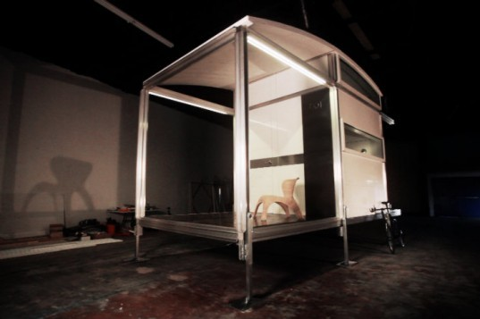 AbleNook Prototype, ablenook, modular dwelling, disaster relief, humanitarian relief, prefab shelter, emergency shelter