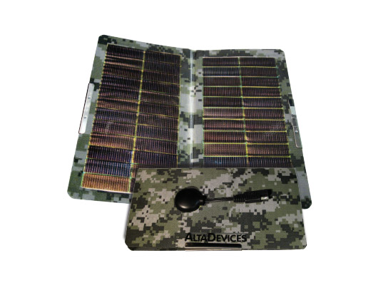 Alta Devices, Alta Devices Solar Power Mat, Lightest Solar Power Mat, portable energy, portable solar power, military solar power, renewable energy, Alta Devices technology, world's lightest solar mat, world's most efficient solar mat