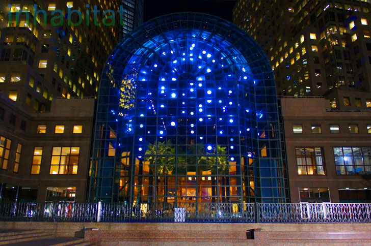 photos anne militello s light cycles led art installation unveiled
