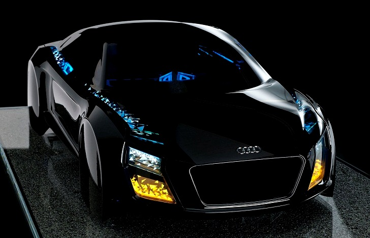 Audi Unveils LED Headlights of the Future at CES 2013 | Inhabitat - Green Design Innovation Architecture Green Building & Audi Unveils LED Headlights of the Future at CES 2013 | Inhabitat ... azcodes.com