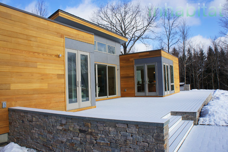 Photos blu homes opens east coast 39 s first michelle kaufmann designed prefab breezehouse in Michelle kaufmann designs blu homes