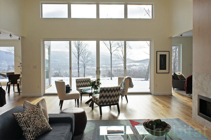 Photos blu homes opens east coast 39 s first michelle for Panelized homes new york