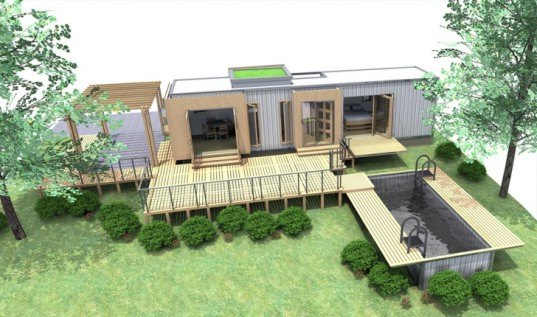 Awesome Eco Pig Designs, Shipping Container Home, Sch 1, Green Architecture,  Sustainable