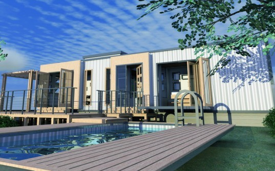 Eco Pig Designs, shipping container home, sch-1, green architecture, sustainable architecture, green design, green building, cargotecture, container home, green design, sustainable design