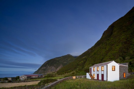 Environmental Interpretation Centre, São Jorge Island, Ana Laura Vasconcelos, historic renovation, green renovation, environmental center, portugal
