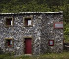 Stone Environmental Interpretation Centre is a Sensitive Reconstruction on São Jorge Island