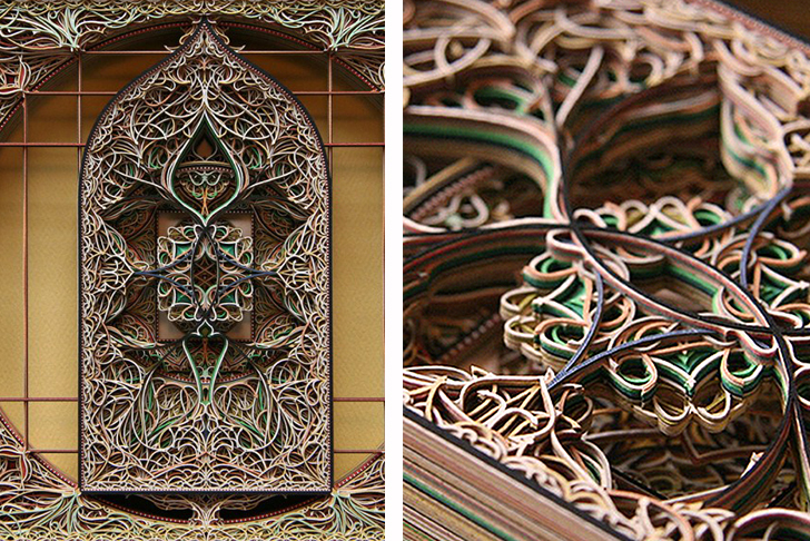 Eric Standleys Intricate Paper Laser Cut Work Inhabitat Green - Beautiful laser cut paper art eric standley