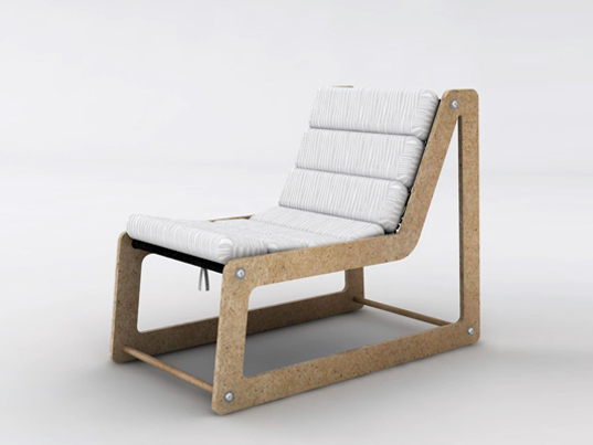 fl inout chair, oyd design, onur y demiroz, sustainable design, green design, green furniture, green interiors, sustainable furniture, recycled furniture, wood waste chair, recycled materials, sustainable materials