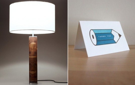 Sustainable lamp, sustainable products, FSC certified, reused material, green lighting, green design