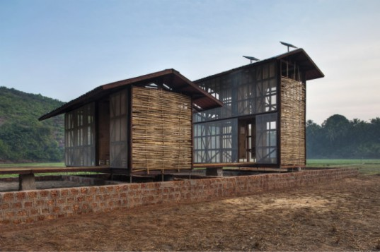 Kumta Prototype, Rintala Eggertsson, eco home model, affordable housing, india, hut-to-hut