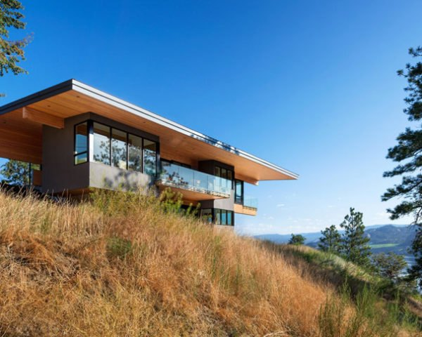 Lefebvre-Smyth Residence, Kaleden, British Columbia, Skaha Lake, single family residence, storm water management, water efficiency, regional materials, daylight, low VOC,