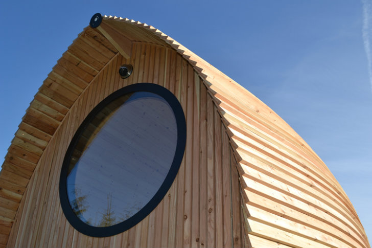 Glamping at Loch Ness