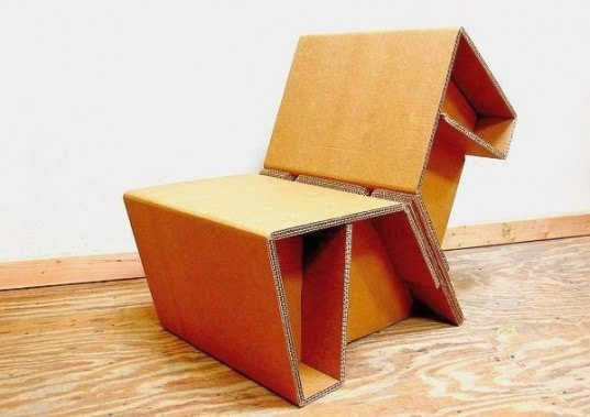 chairigami, origami furniture, cardboard furniture, recyclable furniture, eco furniture, green furniture, cardboard chair