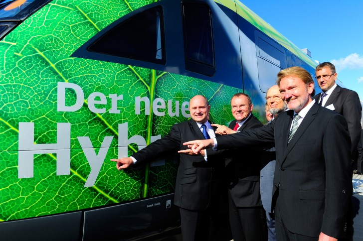 European Trains Could Soon Become Hybrids Thanks to Regenerative