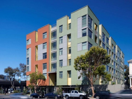 Merritt Crossing, LMS Architects, affordable housing, senior housing, leed platinum, oakland,