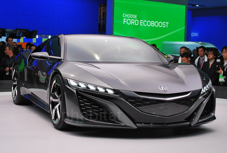 NAIAS 2013: Acura Brings Its Awesome NSX Concept Sports Hybrid Back To  Detroit | Inhabitat   Green Design, Innovation, Architecture, Green Building