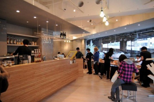 Fab Café, Shibuya, Tokto, Café, Coffee, laser-cut, Naruse-Inokuma Architects, Loftwork, Art, DIY,